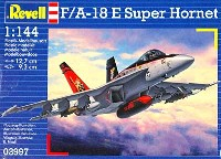 レベル1/144 飛行機F/A-18E スーパーホーネット