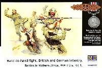 マスターボックス1/35 ミリタリーミニチュア白兵戦 ドイツ軍 vs イギリス軍 1941-42年 北アフリカ