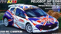 BELKITS 1/24 PLASTIC KITS プジョー 207 S2000 2009 Ypres Westhoek Rally Winner