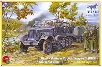 ブロンコモデル1/35 AFVモデルドイツ Sd.kfz.6 5tハーフトラック (BN9b) 工兵タイプ