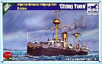 ブロンコモデル1/350 艦船モデル清国 防護巡洋艦 靖遠 (セイエン) 1894 日清戦争