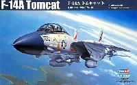 ホビーボス1/72 エアクラフト プラモデルF-14A トムキャット