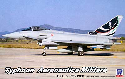 タイフーン イタリア空軍プラモデル(ピットロードSN 航空機 プラモデルNo.SN011)商品画像