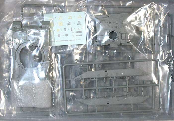 イギリス軍 チャレンジャー 1 (NATOバージョン)プラモデル(トランペッター1/72 AFVシリーズNo.07106)商品画像_1