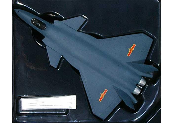 中国空軍 J-20 殲撃20型 ステルス戦闘機 テストフライト 成都 2011完成品(ドラゴン1/144 ウォーバーズシリーズNo.51030)商品画像_1