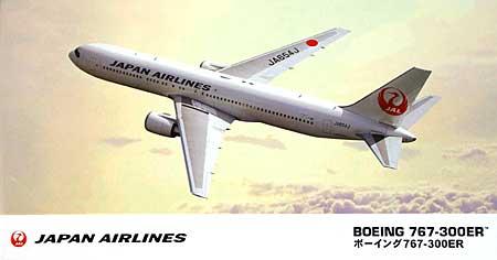 日本航空 ボーイング 767-300ERプラモデル(ハセガワ1/200 飛行機シリーズNo.013)商品画像