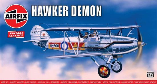 ホーカー デーモンプラモデル(エアフィックス1/72 ミリタリーエアクラフトNo.A01052V)商品画像