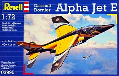 アルファジェット Eプラモデル(レベル1/72 飛行機No.03995)商品画像