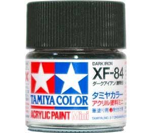XF-84 ダークアイアン (履帯色)塗料(タミヤタミヤカラー アクリル塗料ミニNo.XF084)商品画像