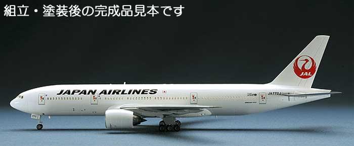日本航空 ボーイング 777-200プラモデル(ハセガワ1/200 飛行機シリーズNo.014)商品画像_3