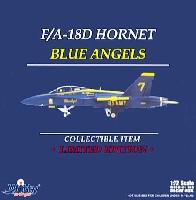 ウイッティ・ウイングス1/72 スカイ ガーディアン シリーズ (現用機)F/A-18D ホーネット アメリカ海軍 ブルーエンジェルス