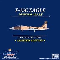 ウイッティ・ウイングス1/72 スカイ ガーディアン シリーズ (現用機)F-15C イーグル U.S.A.F. 65AGRS アグレッサー ネリス AFB