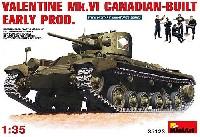 ミニアート1/35 WW2 ミリタリーミニチュアバレンタイン Mk.6 カナダ製 初期型