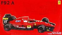 フジミ1/20 GPシリーズ SP (スポット)フェラーリ F92A 1992年 後期型 デラックス (カルトグラフデカール & エッチングパーツ付き)