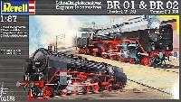 BR01& BR02 蒸気機関車 (2輌セット)