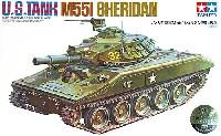 タミヤスケール限定品アメリカ陸軍 M551 シェリダン 空挺戦車