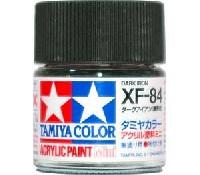 タミヤタミヤカラー アクリル塗料ミニXF-84 ダークアイアン (履帯色)