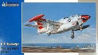 スペシャルホビー1/48 エアクラフト プラモデルアメリカ ノースアメリカン T-2B バックアイ艦上練習機
