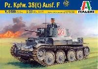 イタレリ1/35 ミリタリーシリーズドイツ戦車 38(t) F型 (Pz.Kpfw.38t Ausf.F)