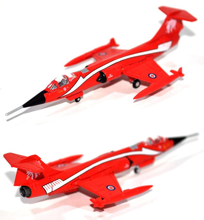 CF-104 スターファイター カナダ空軍 第421飛行隊 レッドインディアンズ完成品(ヘルパherpa Wings (ヘルパ ウイングス)No.554527)商品画像_2