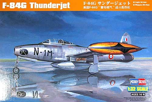 F-84G サンダージェットプラモデル(ホビーボス1/32 エアクラフト シリーズNo.83208)商品画像