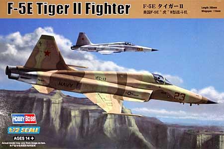 F-5E タイガー 2プラモデル(ホビーボス1/72 エアクラフト プラモデルNo.80207)商品画像