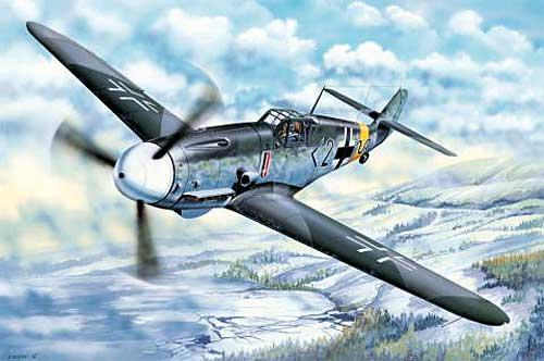 メッサーシュミット Bf109G-2プラモデル(トランペッター1/32 エアクラフトシリーズNo.02294)商品画像