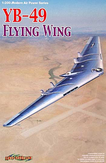 YB-49 フライング・ウイングプラモデル(サイバーホビー1/200 Modern Air Power SeriesNo.2012)商品画像