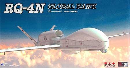RQ-4N グローバルホーク BAMS (海軍型)プラモデル(プラッツ1/72 プラスチックモデルキットNo.AC-005)商品画像