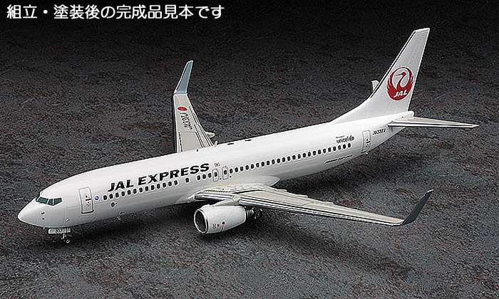 JAL エクスプレス ボーイング 737-800プラモデル(ハセガワ1/200 飛行機シリーズNo.039)商品画像_3