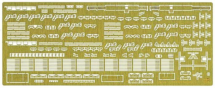 氷川丸 エッチングパーツ スーパーエッチング(ハセガワ1/350 QG帯シリーズNo.QG050)商品画像_1