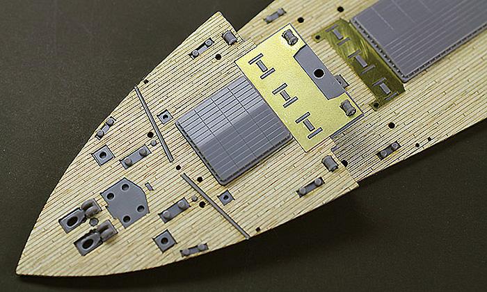 氷川丸 木製甲板木製甲板シート(ハセガワ1/350 QG帯シリーズNo.QG051)商品画像_2