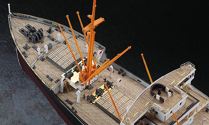 氷川丸 木製甲板木製甲板シート(ハセガワ1/350 QG帯シリーズNo.QG051)商品画像_3