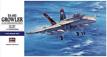 EA-18G グラウラープラモデル(ハセガワ1/72 飛行機 EシリーズNo.E038)商品画像