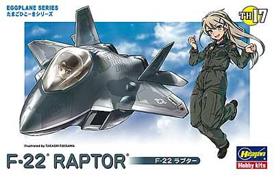 F-22 ラプタープラモデル(ハセガワたまごひこーき シリーズNo.TH017)商品画像