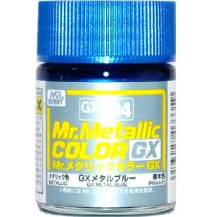 GX メタルブルー (メタリック) (GX-204)塗料(GSIクレオスMr.メタリックカラー GXNo.GX-204)商品画像