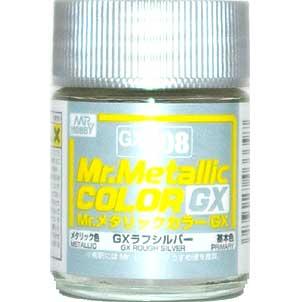 GX ラフシルバー (メタリック) (GX-208)塗料(GSIクレオスMr.メタリックカラー GXNo.GX-208)商品画像