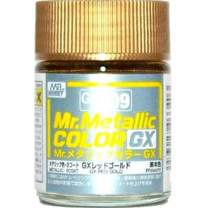 GX レッドゴールド (メタリック) (GX-209)塗料(GSIクレオスMr.メタリックカラー GXNo.GX-209)商品画像