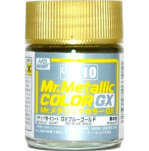 GX ブルーゴールド (メタリック) (GX-210)塗料(GSIクレオスMr.メタリックカラー GXNo.GX-210)商品画像