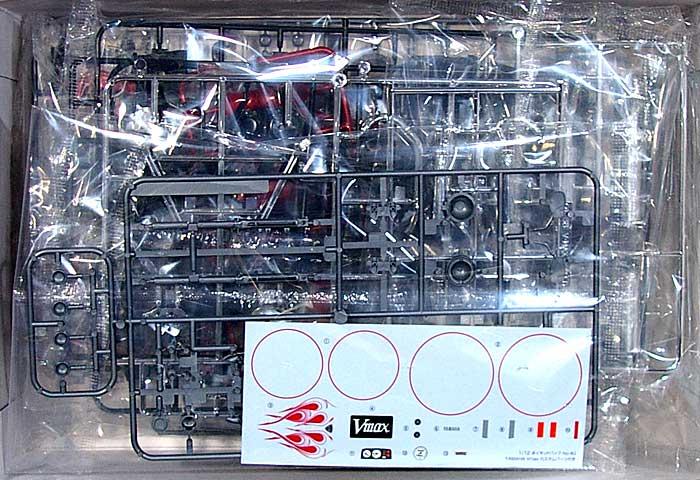 ヤマハ Vmax カスタムパーツ付き (2004)プラモデル(アオシマ1/12 ネイキッドバイクNo.040)商品画像_1