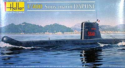 フランス ダフネ級 潜水艦プラモデル(エレール1/400 艦船モデルNo.81069)商品画像