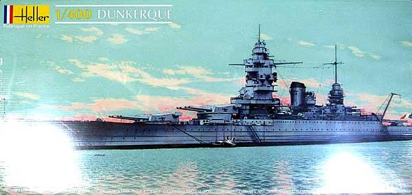フランス ダンケルク級 戦艦プラモデル(エレール1/400 艦船モデルNo.81073)商品画像