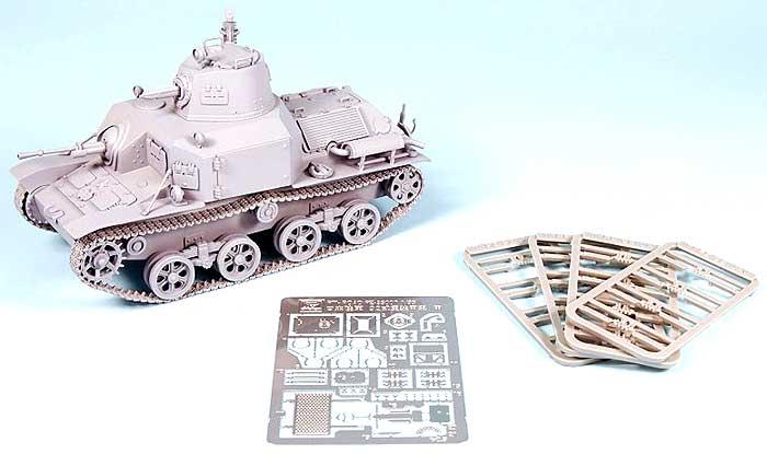 日本陸軍 九二式重装甲車 (後期型) (エッチング&プラ製連結履帯付)プラモデル(ピットロード1/35 グランドアーマーシリーズNo.G017SP)商品画像_2