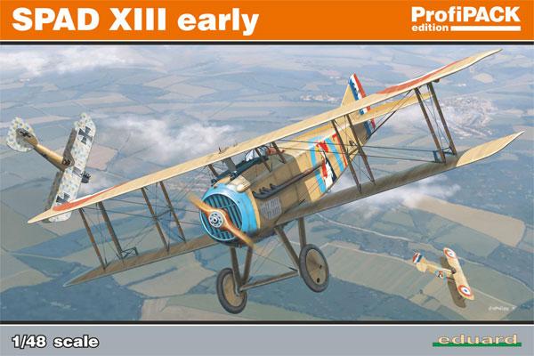 スパッド 8 初期型プラモデル(エデュアルド1/48 プロフィパックNo.8197)商品画像