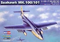 ホビーボス1/72 エアクラフト プラモデルMk.100/101 シーホーク