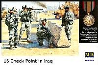 マスターボックス1/35 ミリタリーミニチュアアメリカ 現用陸軍 中東拠点警備 フル装備 (US Check Point in Iraq)