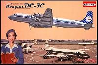 ローデン1/144 エアクラフトダグラス DC-7C 四発旅客機 KLMオランダ航空 1950年代