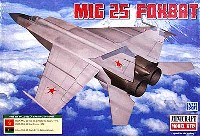ミニクラフト1/144 軍用機プラスチックモデルキットMIG-25 フォックスバット