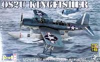 レベル1/48 飛行機モデルOS2U キングフィッシャー