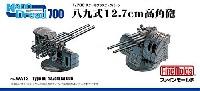ファインモールド1/700 ナノ・ドレッド シリーズ八九式 12.7cm 高角砲